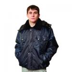 Куртка мужская зимняя Полюс (р.60-62) 170-176, темно-синяя