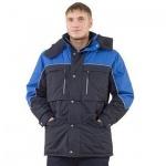 Куртка мужская зимняя Эль Компани Вега (р.48-50) 170-176, сине-васильковый