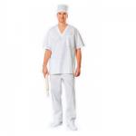 Костюм рабочий пекаря, белый, короткий рукав, (р.56-58) р.170-176