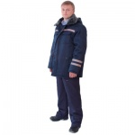 Куртка мужская зимняя Профессионал, (р.52-54) 182-188