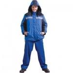 Куртка женская зимняя Морозко, сине-васильковый, (р.60-62) 158-164
