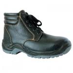 Ботинки демисезонные Worker Бригадир 9122 р.36, с металл.носом, черный