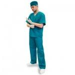 Костюм хирурга универсальный (р.52-54) 158, зеленый