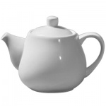 Чайник заварочный Wilmax 1л, белый, фарфор, WL-994003