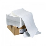 Перфорированная бумага Mega Office Оптима 420х305мм, белизна 95%CIE, 1500шт, с неотрывной перфорацией