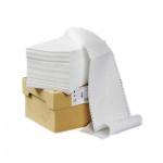 Перфорированная бумага Mega Office Стандарт 240х305мм, белизна 90%CIE, 1500шт, с неотрывной перфорац