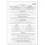 Бланк накладная транспортная А4, 210х297 мм, 100шт, пустографка, приложение № 4 нового образца