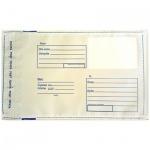 Пакет почтовый полиэтиленовый Suominen С6 белый, 114х162мм, 100мкм, 1шт, стрип, Куда-Кому