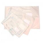 Пакет почтовый полиэтиленовый Оптима В4 белый, 250х353мм, 70мкм, 1000шт, стрип, Куда-Кому