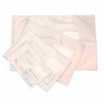 Пакет почтовый полиэтиленовый Оптима белый, 360х500мм, 70мкм, 500шт, стрип, Куда-Кому