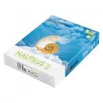 Бумага для принтера Nautilus Super White Recycled A4, 500 листов, 80г/м2, белизна 150%CIE