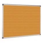Доска пробковая Bi-Office СА151170 100х150см, коричневая, алюминиевая рама