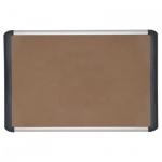 Доска пробковая Bi-Office Premium MVI050501 90х120см, коричневая, алюминиевая рама