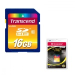 Карта памяти Transcend SDHC, 32Gb, 16/20 мб/с