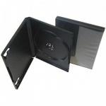 Бокс для CD/DVD Vs DVD-box черный, на 1 диск, 5 шт/уп