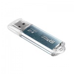 Флеш-накопитель Silicon Power Marvel M01 8Gb, 44/10 мб/с, синий