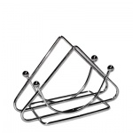 Салфетница Bekker Треугольник 9 х 13 х 5.5см, металлик, ВК-3102