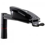 Подставка для телефона или ноутбука Novus PhoneMaster до 6 кг, черная