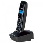 Радиотелефон Panasonic KX-TG1611RU черно-серый