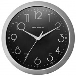 Часы настенные Troyka черные, d=29см, круглые, 11170182