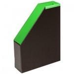 Накопитель вертикальный для бумаг Bantex А4, 70мм, салатовый