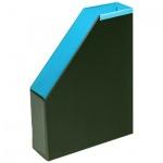 Накопитель вертикальный для бумаг Bantex А4, 70мм, голубой
