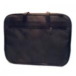 Папка-портфель А4 240х340мм, нейлоновая, пластик
