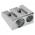 Точилка 2 отверстия, металлическая, AG1006