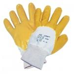 Перчатки трикотажные Лайт нитриловое покрытие, резинка на манжете