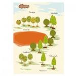 Тетрадь общая №1 School Креатив Осенний парк, А5, 48 листов, в клетку, на склейке, картон