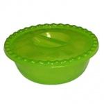 Миска с крышкой Idea 3л, зеленая
