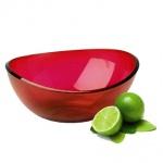 Салатник Idea Кристалл 2.5л, красный