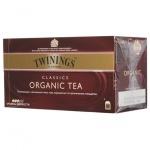 Чай Twinings, черный, Organic, 25 пакетиков