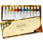 Краски масляные художественные Гамма Студия, 11 цветов х 9мл