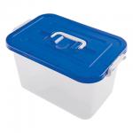 Ящик для хранения с крышкой Полимербыт 10л, 19х35.5х23.5см