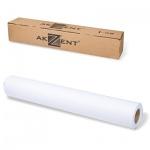 Рулон для плоттера Akzent InkJet 610мм х 45м, 80г/м2, белизна CIE 169%