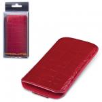 Чехол для Apple iPhone 4/4S Prolife красный, искусственная кожа