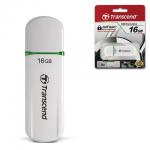 Флеш-накопитель Transcend JetFlash 620 16Gb, 32/18 мб/с, бело-зеленый