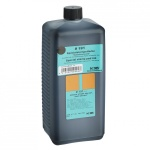 Штемпельная краска на спиртовой основе Noris 1 л, черная, универсальная