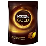 Кофе растворимый Nescafe Gold 250г, пакет