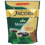 Кофе растворимый Jacobs Monarch Velvet 150г, пакет