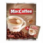 Кофе порционный Maccoffee Карамель 3в1 25шт х 18г, растворимый, пакет