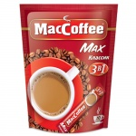 Кофе порционный Maccoffee Классик 3в1 20шт х 16г, растворимый, пакет
