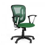 Кресло офисное Chairman 452 ткань, TW, крестовина пластик, зеленое