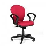 Кресло офисное Chairman 684 ткань, JP, крестовина пластик, NEW, красное