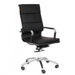 Кресло руководителя Chairman 750 иск. кожа, крестовина хром, черное