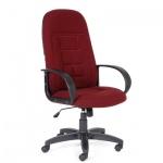 Кресло руководителя Chairman 727, крестовина пластик, бордо
