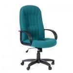 Кресло руководителя Chairman 685 ткань, крестовина пластик, зеленое
