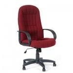 Кресло руководителя Chairman 685 ткань, крестовина пластик, бордо