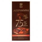 Шоколад Априори горький 75% какао, 5гх20шт